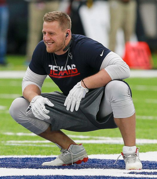 J.J. Watt Photos Photos - J.J. Watt #99 of the Houston Texans warms up before playing the Chicago Bears at NRG Stadium on September 11, 2016 in Houston, Texas. - Chicago Bears v Houston Texans