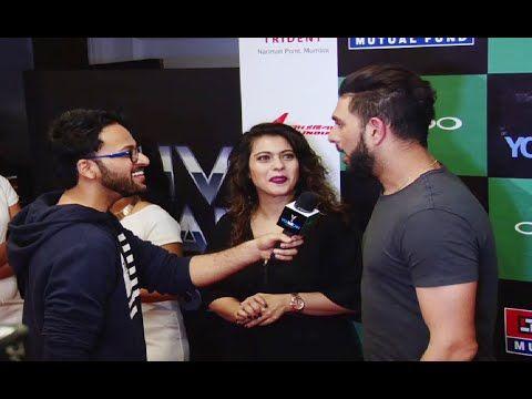 Kajol at Yuvraj Singh's You We Can fashion label launch.