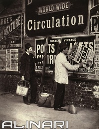 """Street life in London"": street advertising"