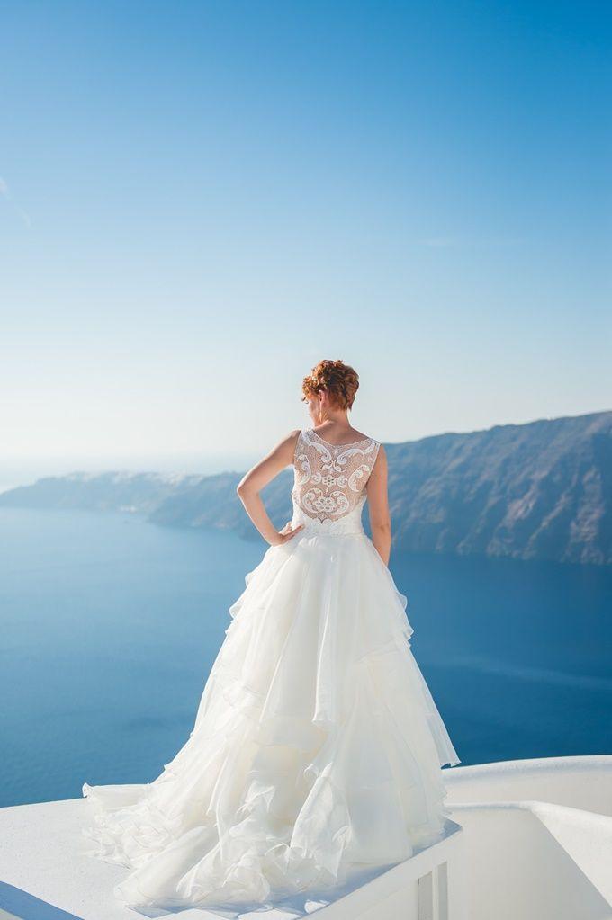 Οργάνωση γάμου Elite Events Santorini   Φωτογράφιση Γάμου Studio Phosart