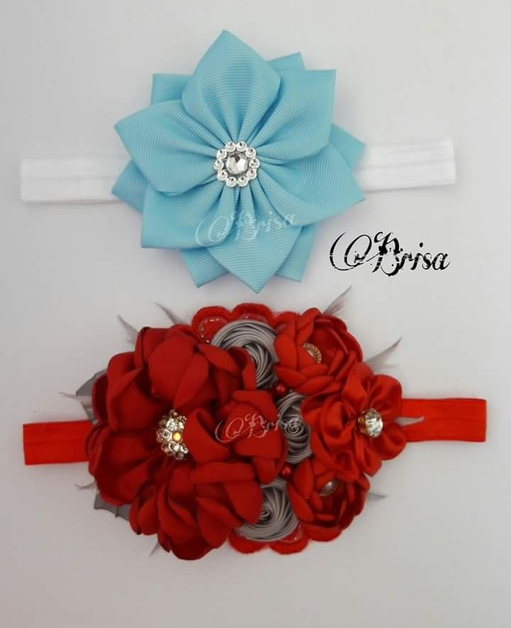 fd58e99f Pin de Johanna Mera en cintillos | DIY lace headband, Hair bows y ...