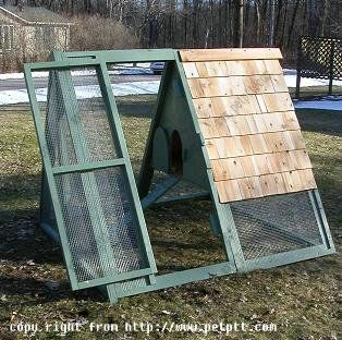 The MADISYN Chicken coop