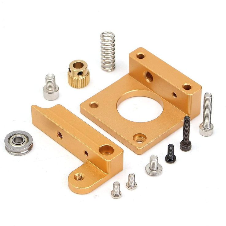 wallmart.win 3D Printer MK8 Extruder Aluminum Frame Block Steady Frame DIY Kits Repair Parts: Vendor: BG-US-Electronics Type: 3D Printer &…