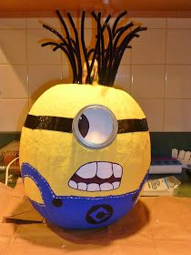 how to despicable me 2 minion pumpkins