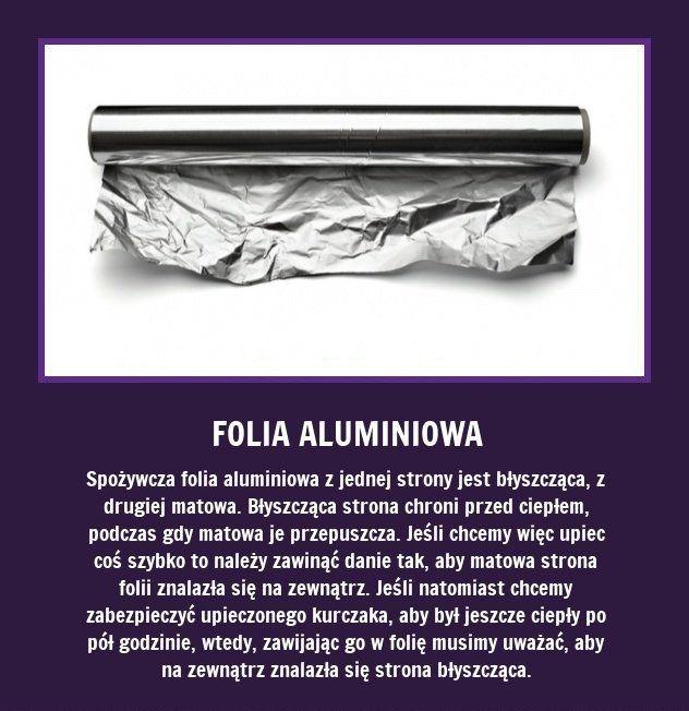 Czy wiecie, że folia aluminiowa... Zaskakujące, prawda?