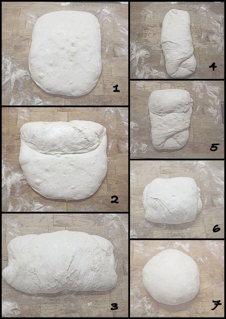 Golosando...serenamente!: Le pieghe a 3 per pane,pizza e lievitati dolci