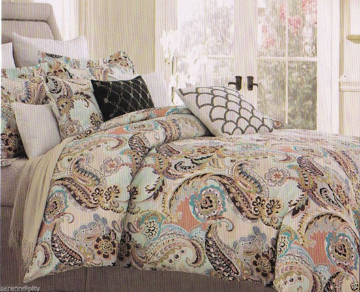25 best ideas about Aqua Comforter on PinterestTurquoise