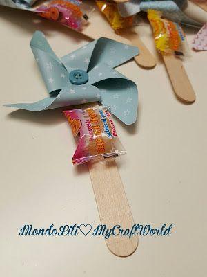 MondoLili: Girandole di carta. piccolo regalino ai bimbi scuola materna