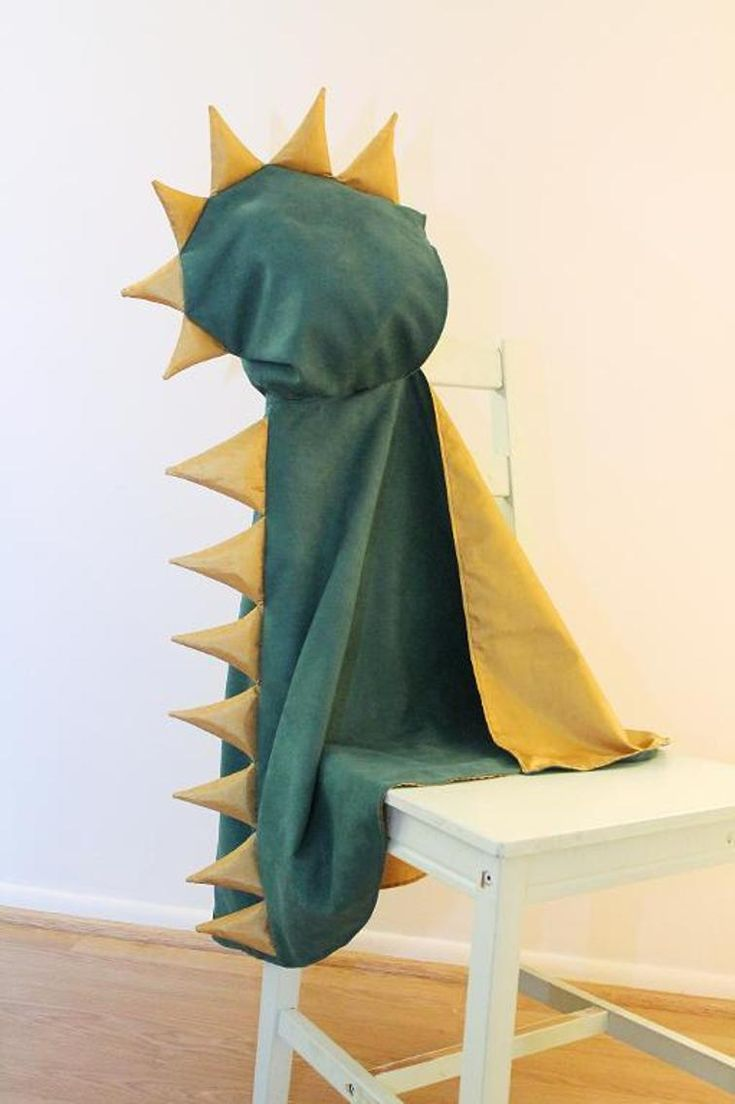 Dinosaur Hooded Kid's Cape Pattern | Craftsy