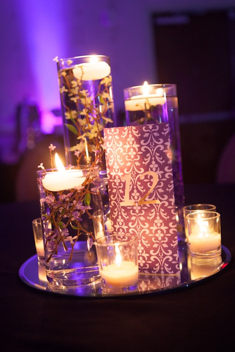 2nd wedding centerpiece-Photography by Brian Sumner      Just idea-no link