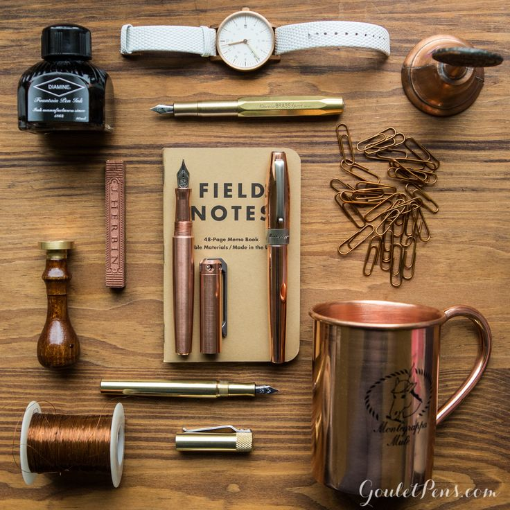 Goulet Pens Blog: Thursday Things: Heavy Metal
