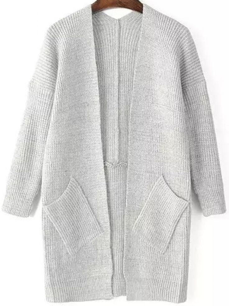 Knitting Pattern Cardigan With Pockets : 17 Best images about Sweater Wear on Pinterest Grey sweater, Grey and Sweat...