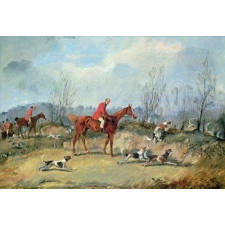 Tally Ho Canvas Art - Samuel Henry Alken (20 x 28)