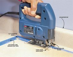 The Family Handyman: How to Use a Jigsaw...a few good tips even for the seasoned user