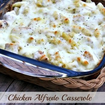 Chicken Alfredo Casserole-I made this for supper tonight...Delicious... Will definitely make this again.
