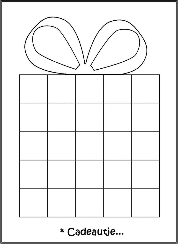 * Laat ze een patroonplakken! TIP: op gekleurd papier afdrukken plastificeren en…