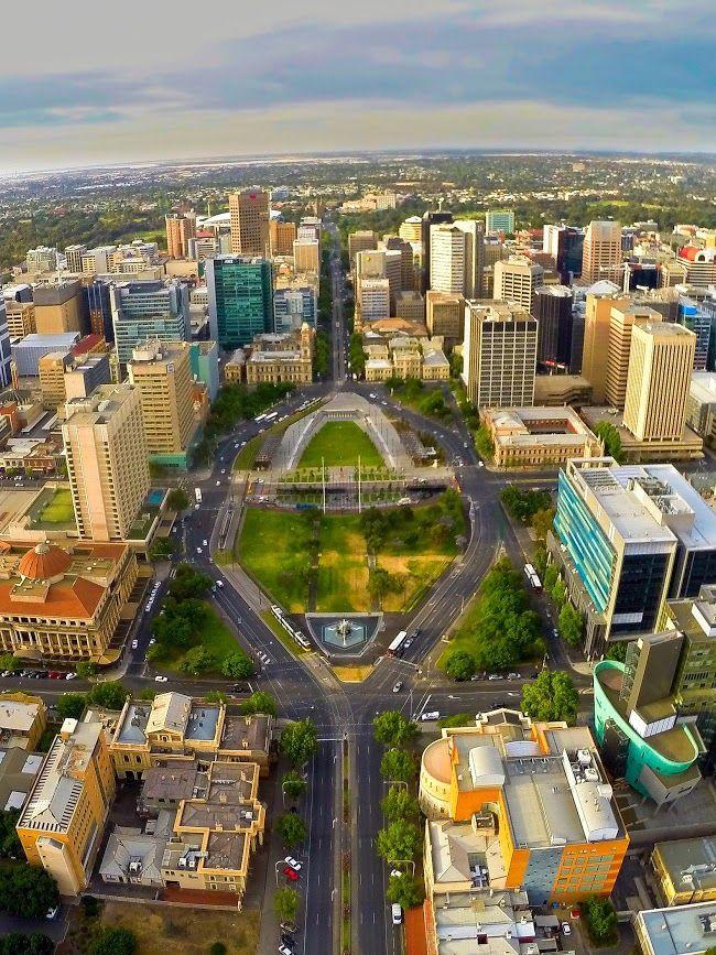 Victoria Square, Adelaide, South Australia #southaustralia