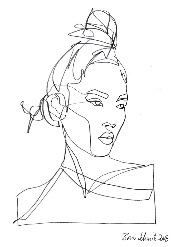 Continuous Line Drawing Of A Face : Best boris schmitz images on pinterest line