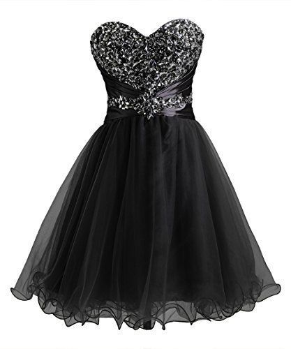 Homecoming Dress,simple Homecoming Dresses,Black Homecoming Gowns,Short Prom…
