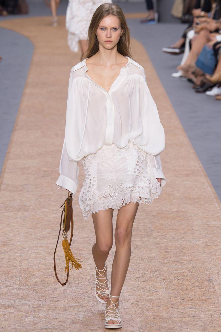 Chloé Spring 2016 Ready-to-Wear Fashion Show - Julie Hoomans (Women)