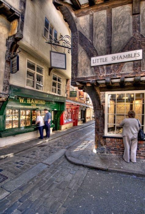 York, England (The Shambles Street)