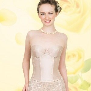 これ一枚でバストからウェストまで補正♡美しい曲線にうっとりしちゃう♡おすすめのドレス用インナー、結婚式・ウェディング・ブライダルの参考に♪