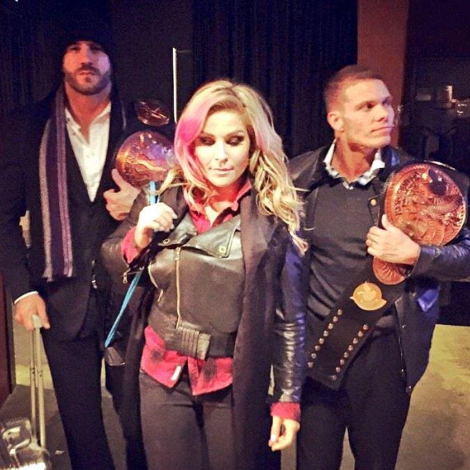 Natalya, Tyson Kidd, Cesaro