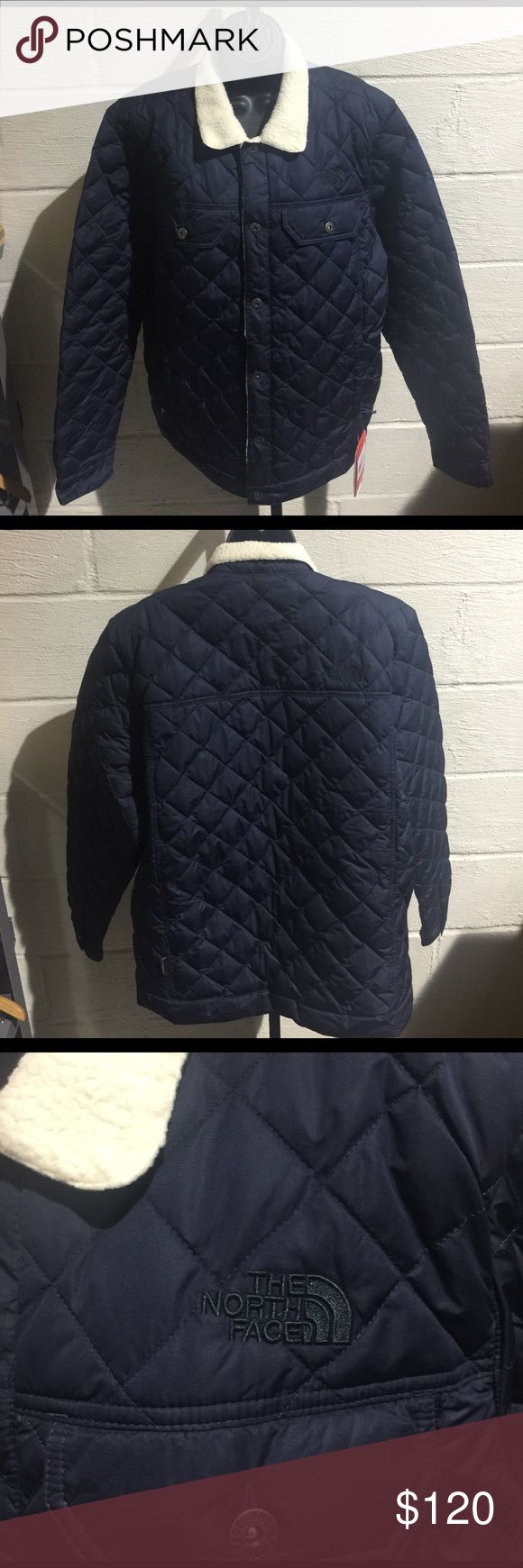 The North Face Men's Sherpa Thermoball Jacket This jacket is lined with Sherpa fleece, Thermoball Insulated and lightweight in cold/wet conditions! (PM-M0069) North Face Jackets & Coats