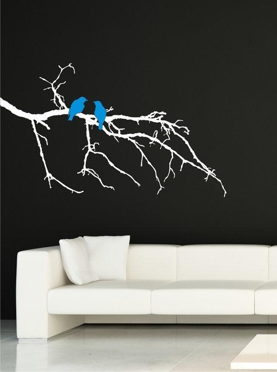 blue birds: Art Work, Winter Vinyls, Branches Vinyls, Branches Winter, Artists Inspiration, Vinyls Art, Vinyl Wall Art, Vinyls Wall Decals, Vinyls Wall Art