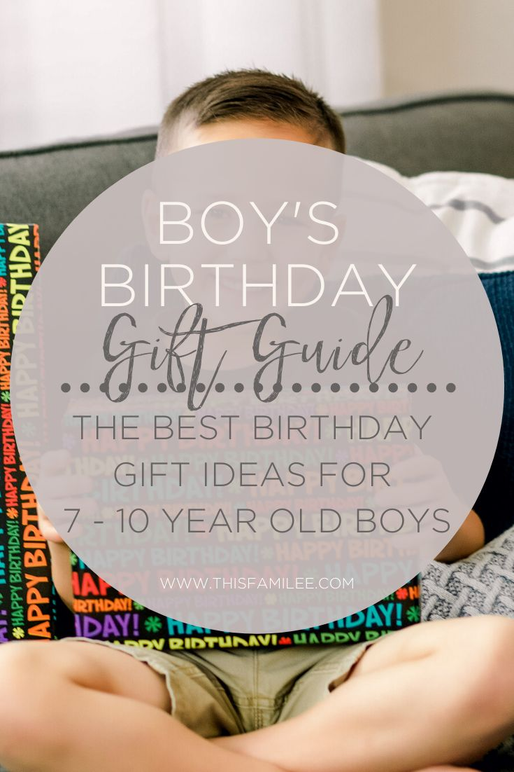 Boys birthday gift guide in 2020 with images birthday