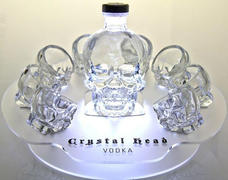 Crystal Head Vodka  (хрустальный череп)