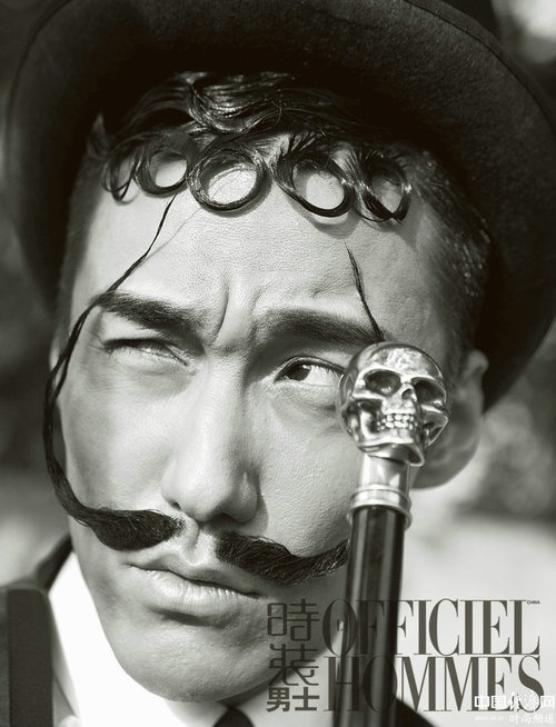 Hu Bing for L'Officiel Hommes China Magazine