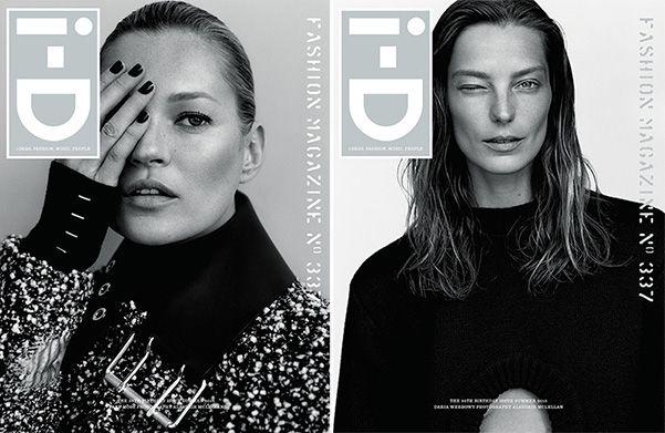 18 обложек ко дню рождения: Кейт Мосс, Дарья Вербова и другие в спецвыпуске i-D