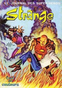 Article sur Iron Man paru dans le Strange 48 des éditions Lug