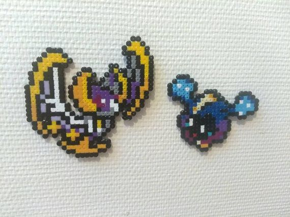 Cosmog Cosmovum Solgaleo And Lunana Pokemon Hama Beads