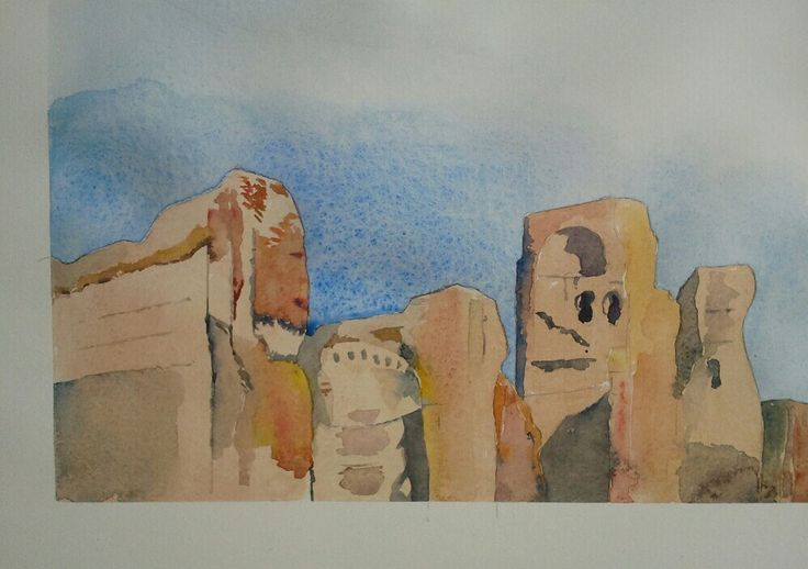 #caracalla#acquerelli#watercolours www.watercoloursundayman.blogspot.com