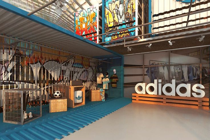 My Project: Adidas Store.