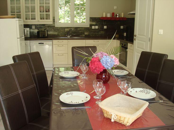L'espace repas Le Clos du Hêtre, dining area