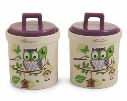 Idea regalo per natale set 2 barattoli per porta zucchero for Porta zucchero caffe sale