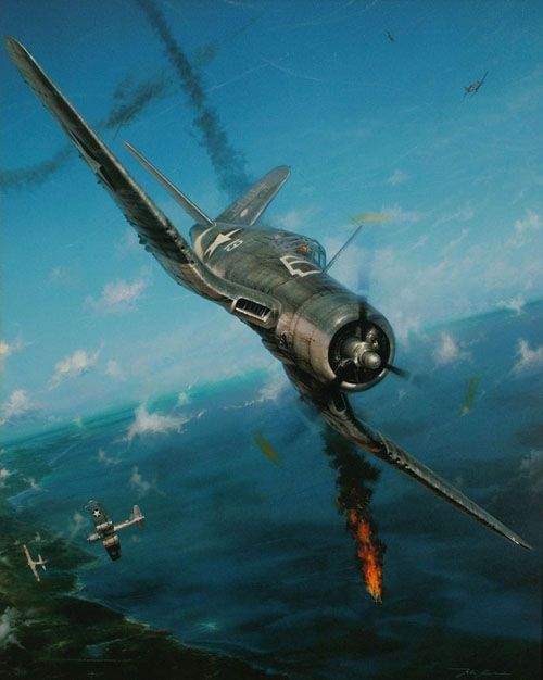 John Shaw Aviation Art: Semper Fi Skies