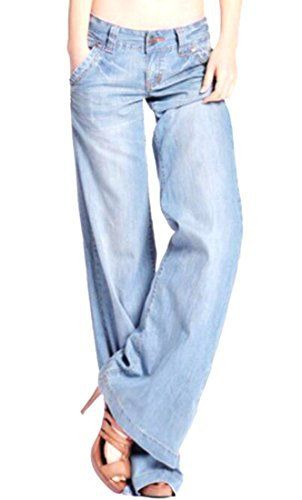New Trending Denim: OULIU Womens Retro 60s 70s Flares Bell-Bottom Wide Flared Jeans Light Blue 29. OULIU Women's Retro 60s 70s Flares Bell-Bottom Wide Flared Jeans Light Blue 29  Special Offer: $17.52  277 Reviews Size:Please check your measurements to make sure the item fits before ordering.Choose larger sizes if your size are same as the flat measurement Size...