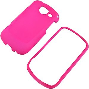 Hot Pink Rubberized Protector Case for Samsung Brightside SCH-U380