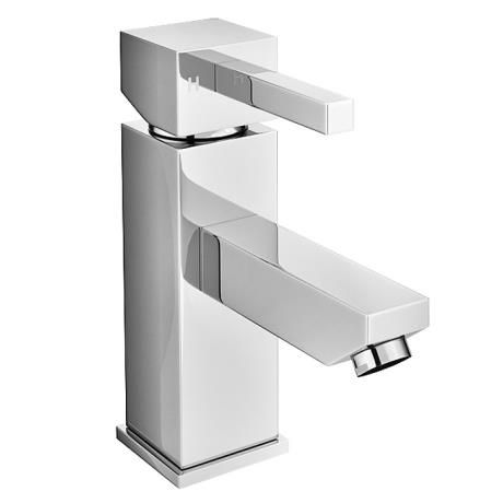 Prime Modern Mono Basin Mixer with Waste - Chrome