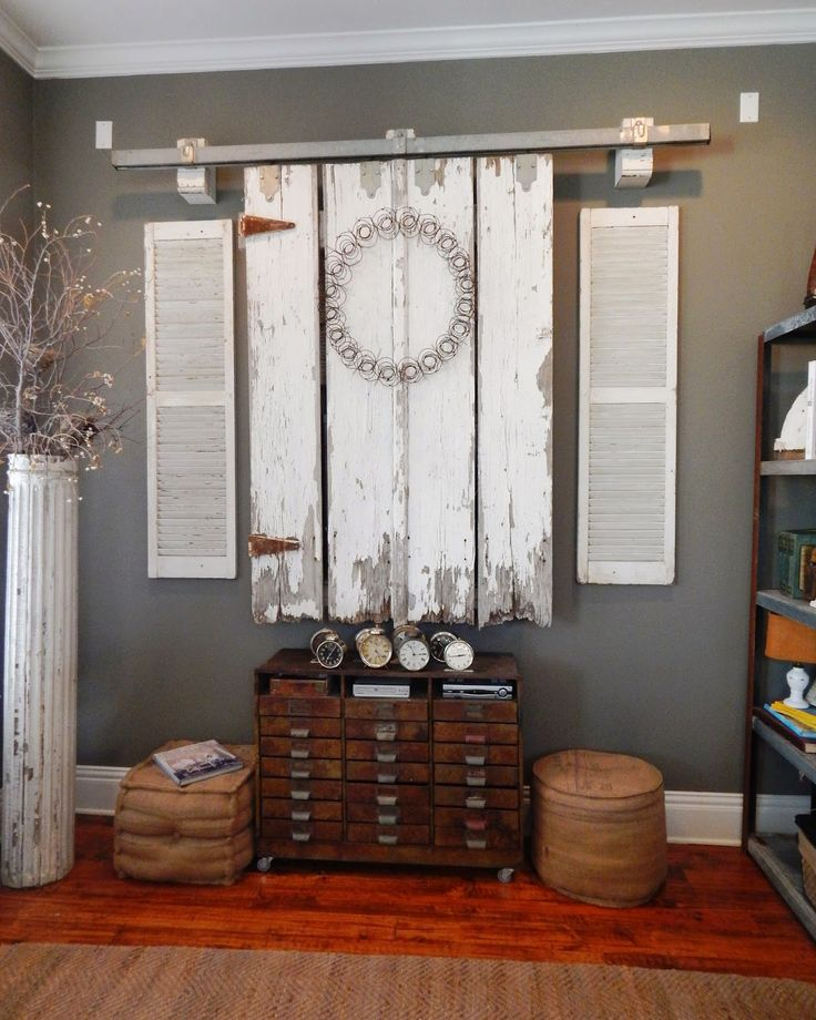 Barn doors in the den with images diy sliding barn