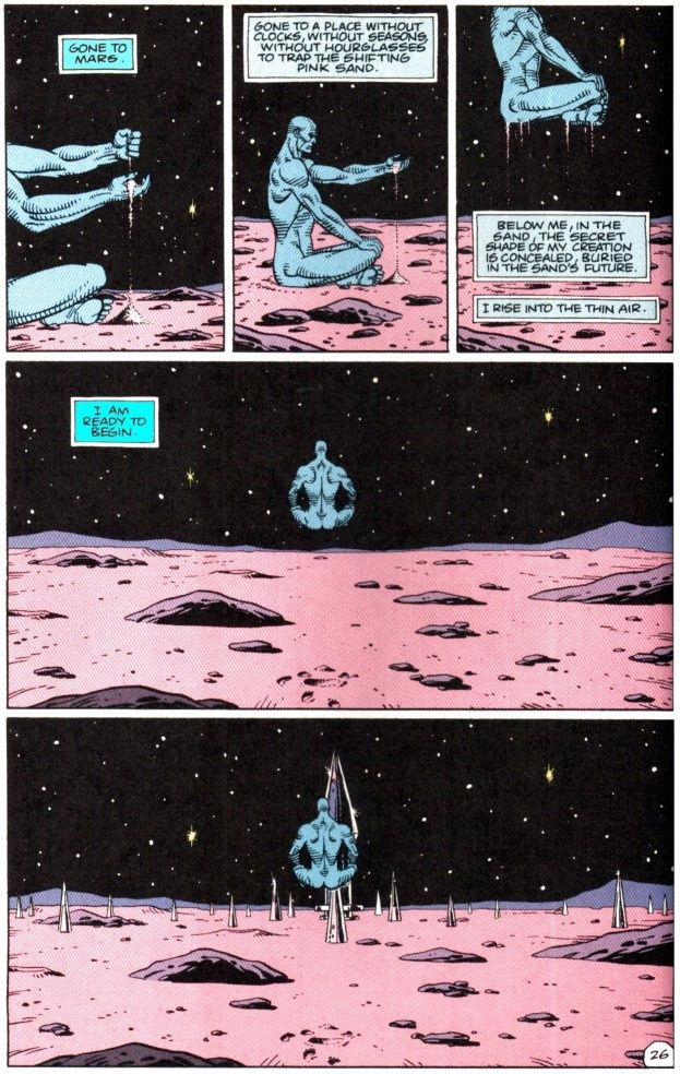 52 best Dr. Manhattan images on Pinterest | Comics ...