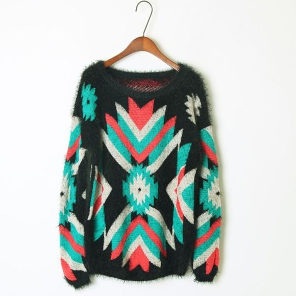 2013 new style retro thicken the wind rose in Europe and matching color loose round neck long sleeve sweater