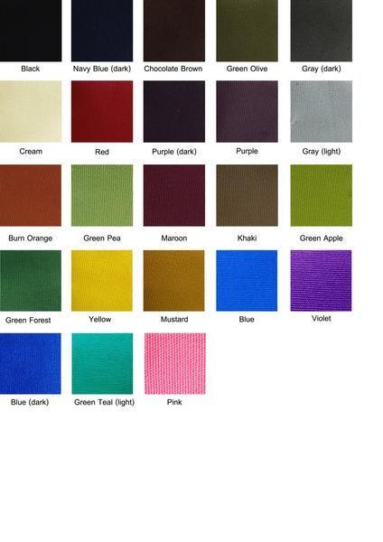 Canvas Fabric: Plain