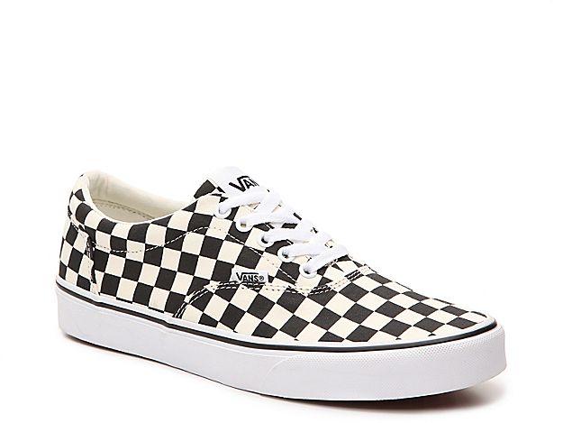 Men Doheny Sneaker Men's WhiteBlack Checkerboard