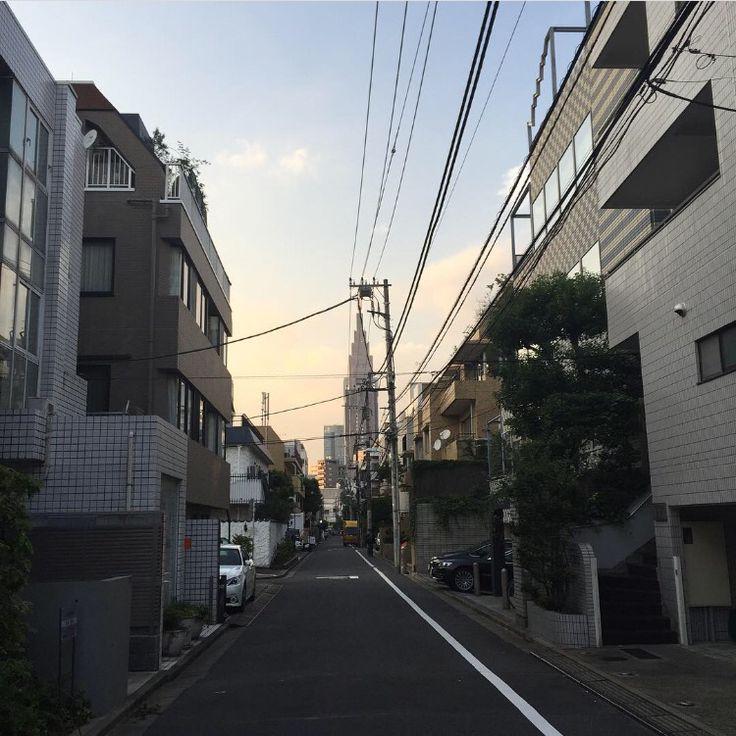 My block Shin-Okubo Korea Town Tokyo Japan
