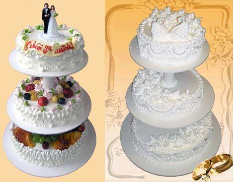 Торт свадебный пеко хлебозавод